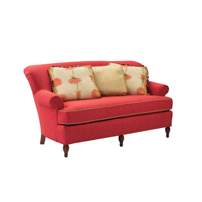 Harden 6672 071 upholstery settee discount furniture at for Affordable furniture upholstery