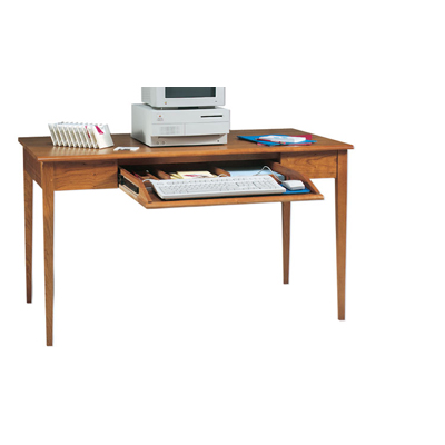 Harden Desk with Keyboard Drawer