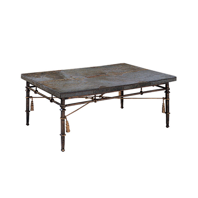 Harden 1/2 Iron Cocktail Table