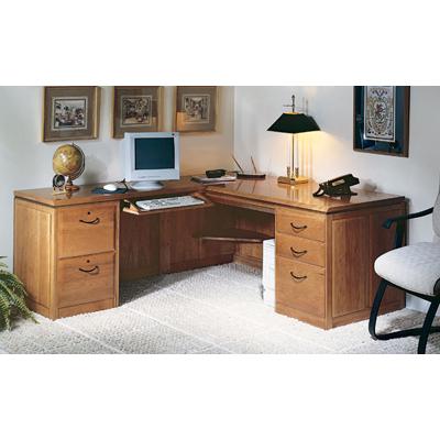 Harden LEFT L-Shaped Desk Unit