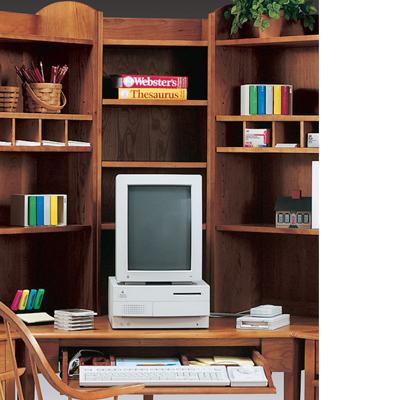 Harden Tall Corner Bookcase