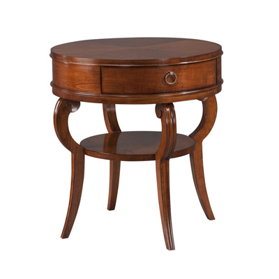 Harden 2010 April Market Round End Table