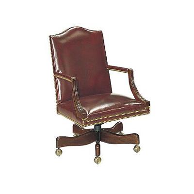 Hickory Chair Small Martha Washington Swivel Chair