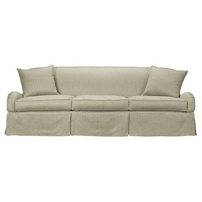 Hickory Chair Emory Skirted Sofa