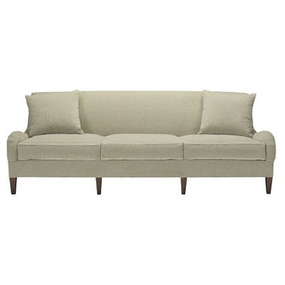 Hickory Chair 1502 06 Suzanne Kasler Emory Sofa With Exposed Legs