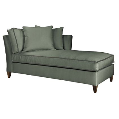 Hickory Chair Leigh Right-Arm Chaise