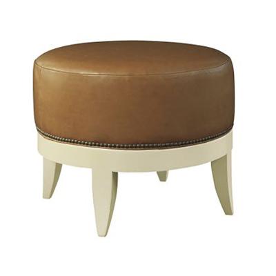 Hickory Chair Auburn Small Ottoman