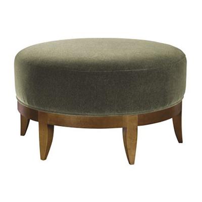 Hickory Chair Auburn Large Ottoman