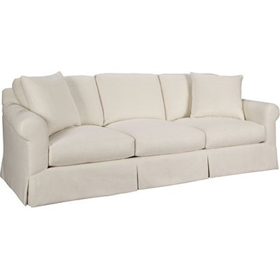 Hickory Chair Celine Skirted Sofa