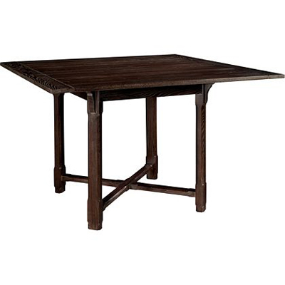 Hickory Chair Piedmont Square Top with Counter Height Base