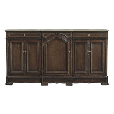Hickory Chair Carlyle Large Credenza Stone Top