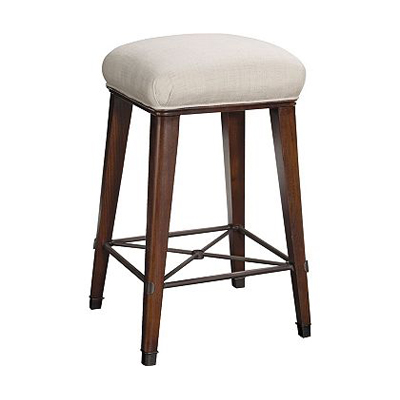Hickory Chair Windsor Counter Stool