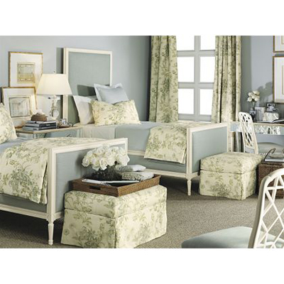 Hickory Chair 1553 10 Suzanne Kasler Candler Twin Bed