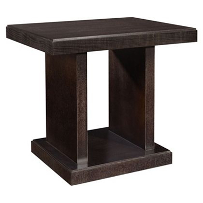 Hickory Chair Chase Reeded Side Table