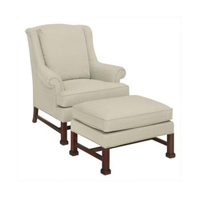 Hickory Chair Marlborough Leg Lounge Chair