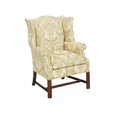 Hickory Chair Chippendale Wing Chair