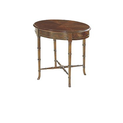Hickory Chair Oval Regency Accessory Table