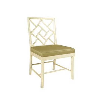 Hickory Chair Fretwork Side Chair