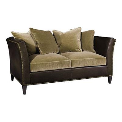 Hickory Chair Camden Exposed Leg Short Sofa
