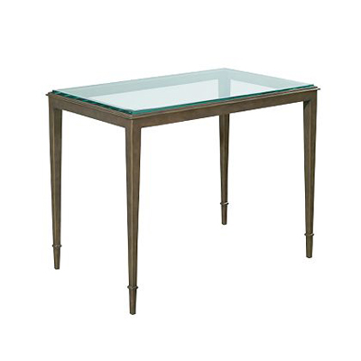Hickory Chair Fyn Clear Glass Top