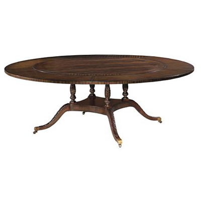 Hickory Chair Sheraton Round Dining Table (Top)