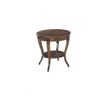 Hickory Chair Round Klismos Lamp Table