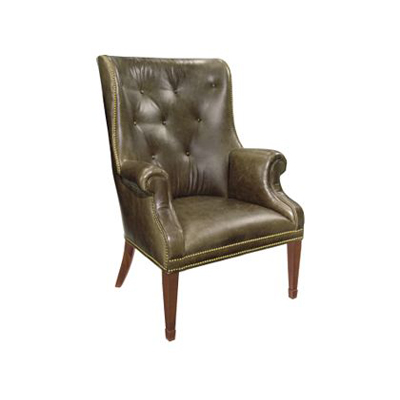 Hickory Chair Isaac Wing Chair