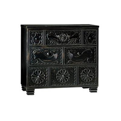 Hickory Chair Carved Chest