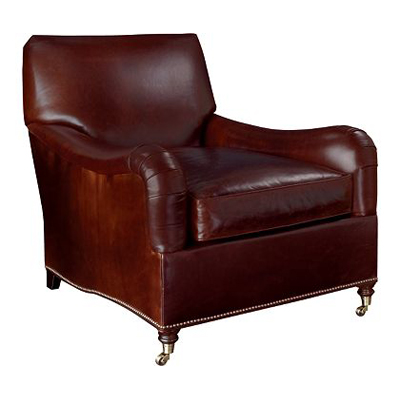 Hickory Chair Silhouettes English Arm Lounge Chair