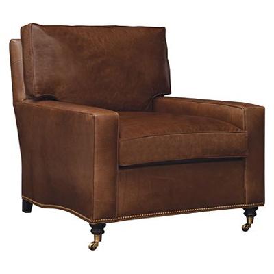Hickory Chair Silhouettes Medium Square Arm Chair