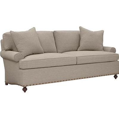 Hickory Chair Silhouettes Sock Lawson Arm Sofa