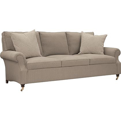 Hickory Chair Silhouettes M2M Slope Arm Sofa