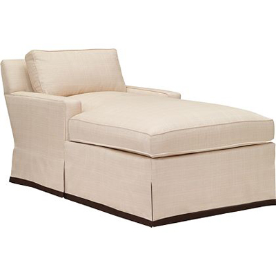 Hickory Chair Silhouettes M2M Medium Square Arm Chaise