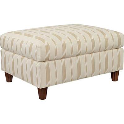Hickory Chair Truman Ottoman