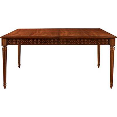 Hickory Chair Gustav Rectangular Table Figure Eight Apron