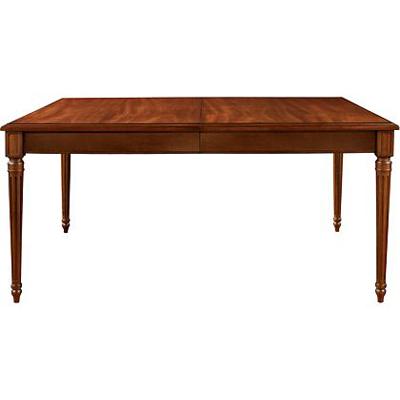 Hickory Chair Gustav Rectangular Table Plain Veneer Apron