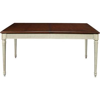 Hickory Chair Gustav Rectangular Table Reeded Apron