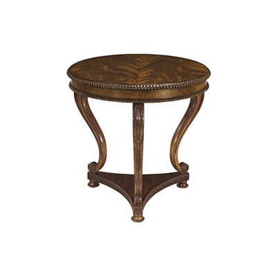 Hickory Chair Round Regency Lamp Table