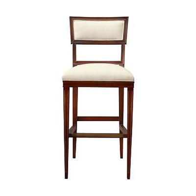 Hickory Chair Ilsa Bar Stool Open Panel