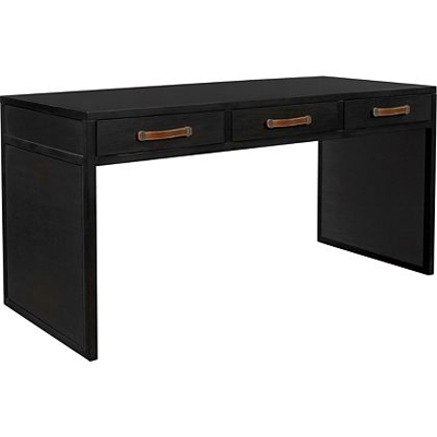 Hickory Chair Harrison Three Drawer Writing Table