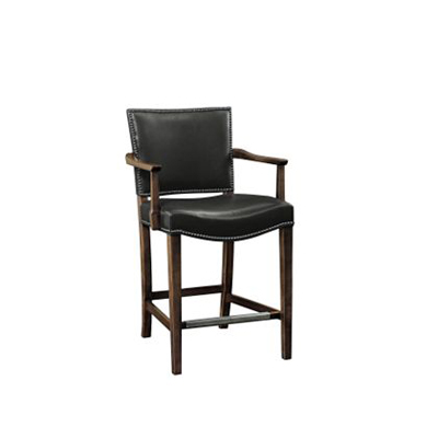 Hickory Chair 5750 05 Archive Madigan Backless Stool