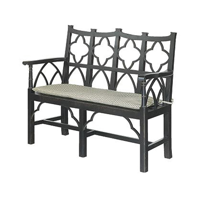 Hickory Chair Gothick Bench