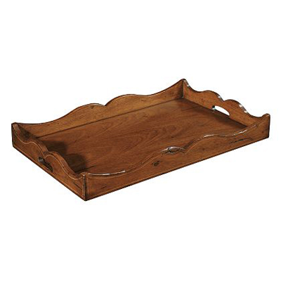 Hickory Chair Chandler Tray with Handles Only Optional Finishes