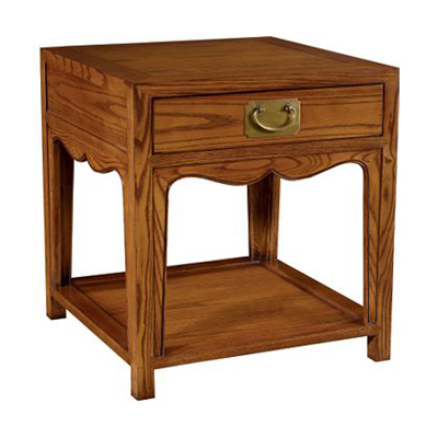 Hickory Chair Peony Side Table