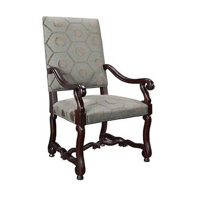Hickory Chair Tuscany Arm Chair