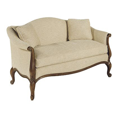 Hickory Chair French Loveseat