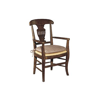 Enjoyable Hickory Chair 9401 03 Atelier Montgolfier Arm Chair Discount Ibusinesslaw Wood Chair Design Ideas Ibusinesslaworg