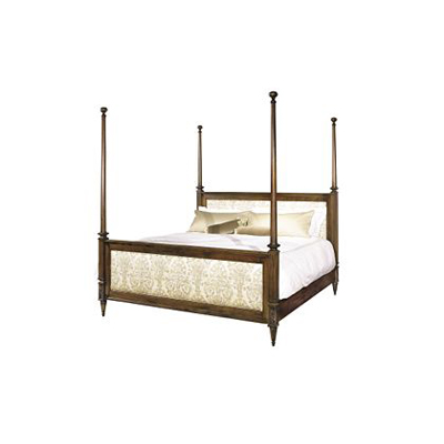 Hickory Chair Left Bank Bed King