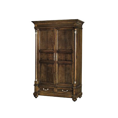 hickory chair 9769 10 atelier left bank armoire discount. Black Bedroom Furniture Sets. Home Design Ideas