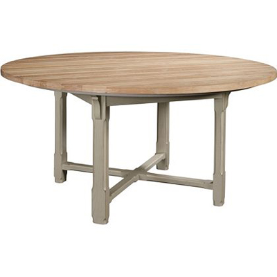 Hickory Chair Campagne 60 inch Dining Table Top